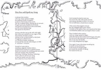 Poem in Votive Spindle Whorl