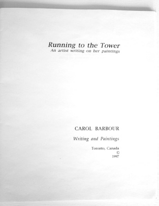 Frontispiece Running to the Tower