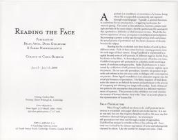Curatorial Essay, Carol Barbour, 2000